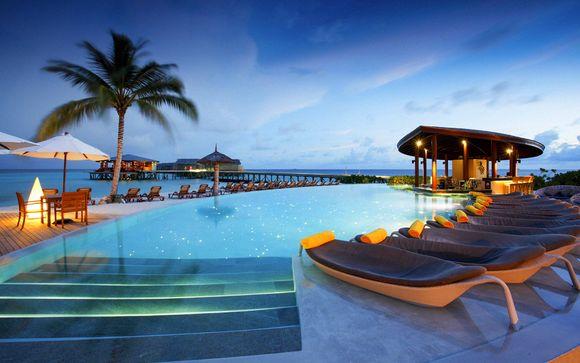 Combinado Rove Trade Center y Centara Ras Fushi Maldives