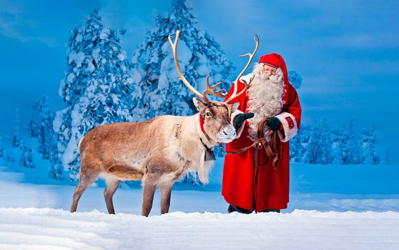 Visita a Papa Noel en Rovaniemi