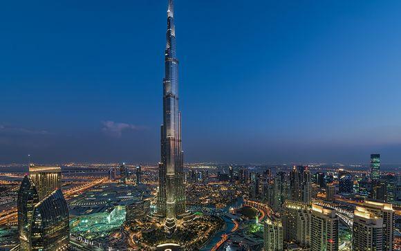 Tu preextensión opcional en Dubái