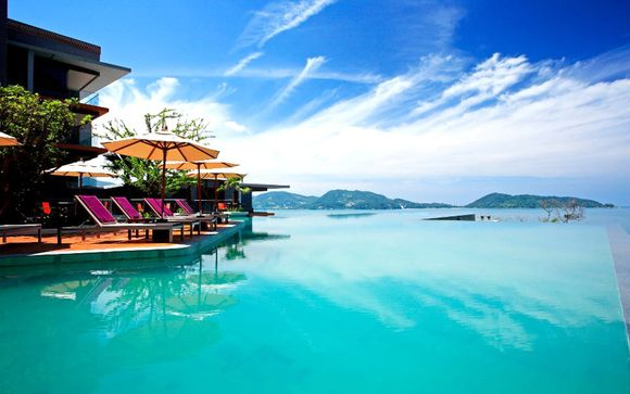 Estilosa estancia frente al mar de Andamán