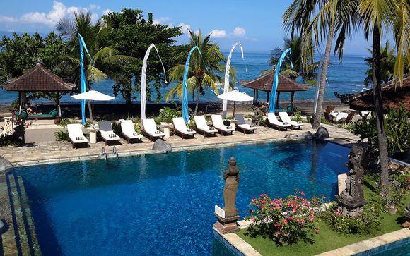 Trío Puri Bagus y The Sakala Resort 5*