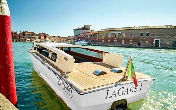 Arte e historia con vistas al Gran Canal de Murano