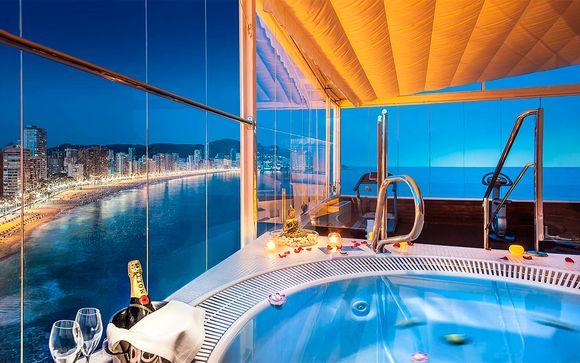 Estancia sublime con acceso privado al spa y vistas al mar