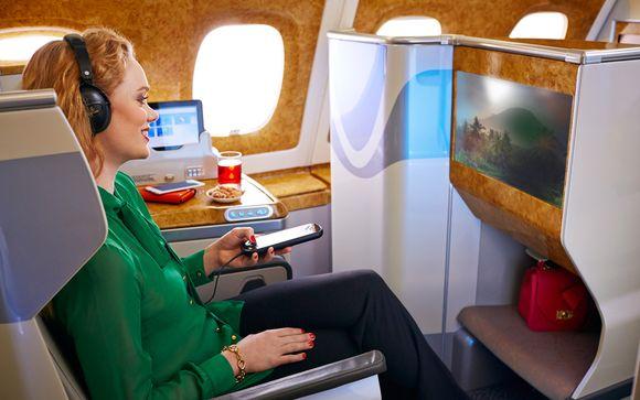 La Business Class de Emirates