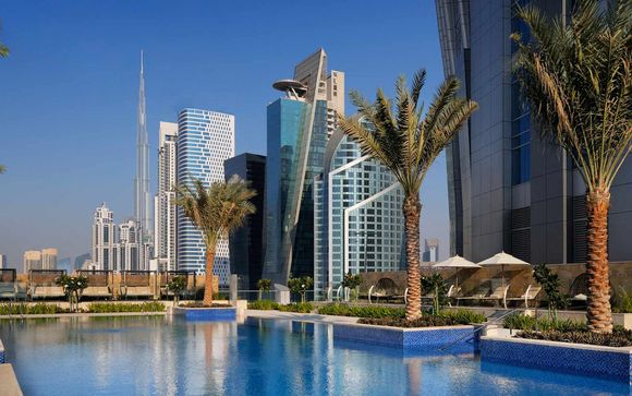 Emiratos Árabes Unidos Dubái JW Marriott Marquis 5* desde 630,00 €