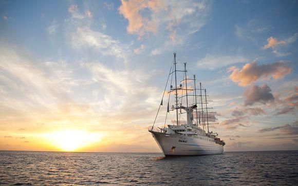 Itinerario de 8 noches en crucero