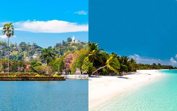 Circuito privado y pensión completa en la playa con vuelos