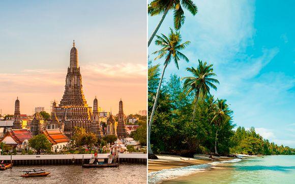Tailandia Khao Lak - Mandarin 4*, Manathai Surin Phuket 4* y The Waters en 4* desde 1.042,00 €
