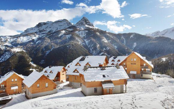 Divertidas vacaciones familiares en la nieve