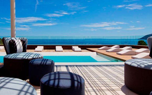 Frente a la playa en Deluxe con Spa con Voyage Prive en Ibiza Islas Baleares