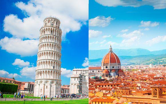 Pisa, Florencia y Roma