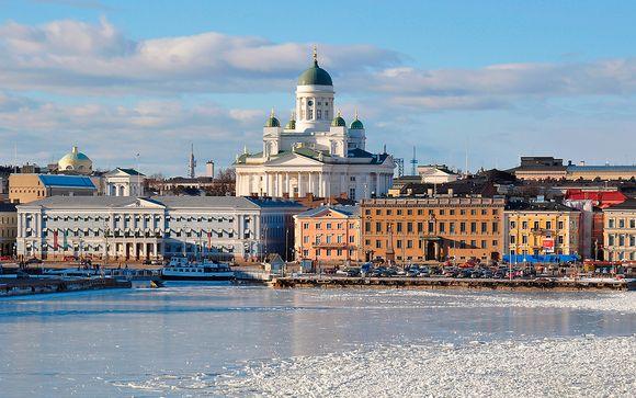 Helsinki y Estocolmo