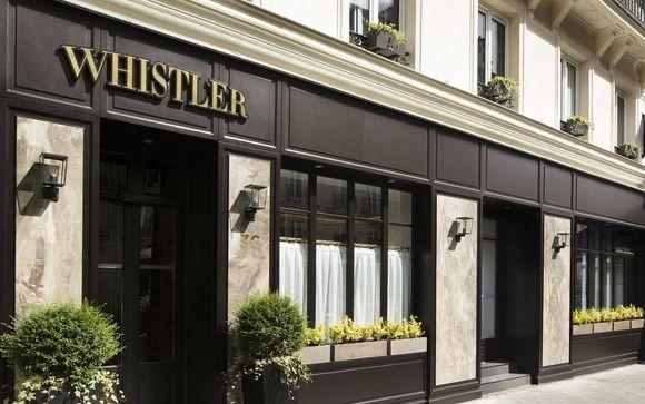 Francia París - Hotel Whistler 4* desde 44,00 €