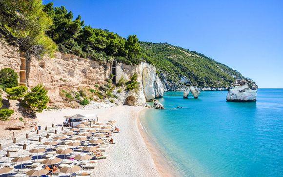 Italia Mattinata - Baia dei Faraglioni Beach Resort 5* desde 122,00 €
