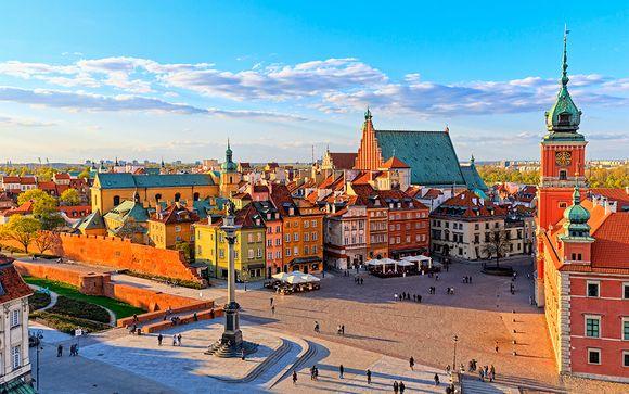 Descubre Varsovia y Cracovia