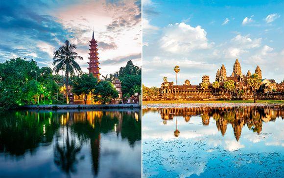 Viaje al corazón de Indochina y Camboya