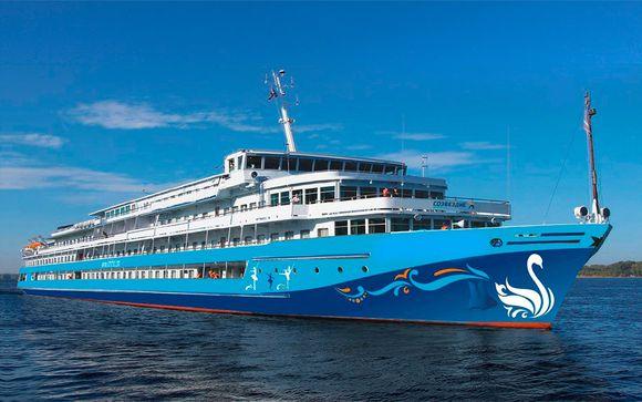 Rusia San Petersburgo - Crucero por el Volga con MS Crucelake desde 1.396,00 €