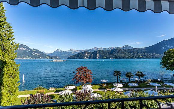 El lago de Lucerna le espera