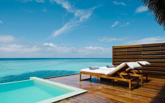 Villa con piscina privada y todo incluido