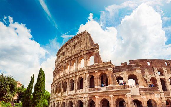 Italia Roma - Hotel Beverly Hills 4* desde 35,00 €