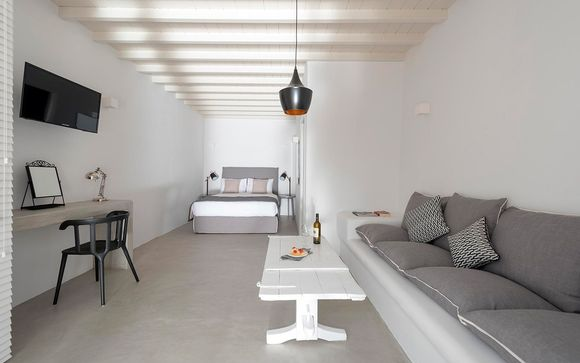 Cova Mykonos Suites le abre sus puertas