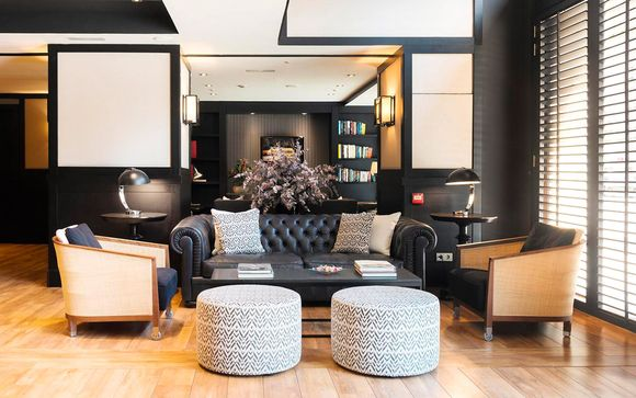 Romántica estancia entre arquitectura modernista