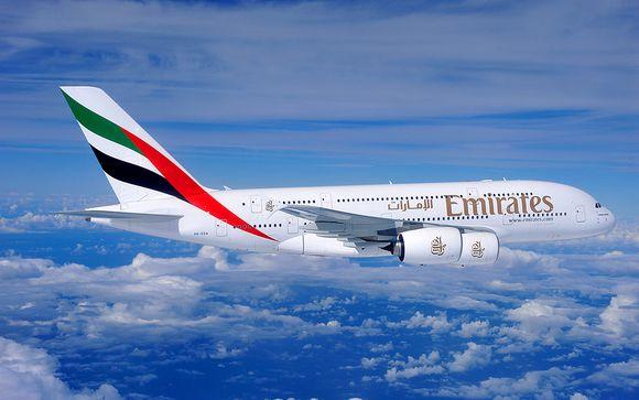 Envolez-vous avec la compagnie Emirates