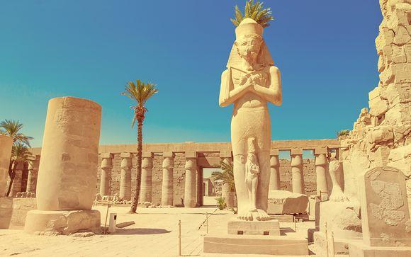 Croisière Grandeur des Pharaons avec visite du Caire 5*