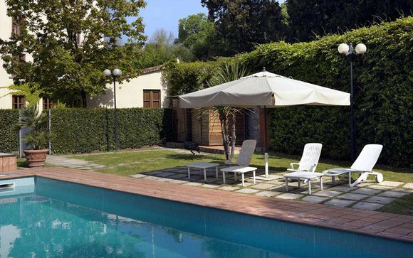 Poussez les portes de l'hôtel Villa Gabriele D'Annunzio 4*