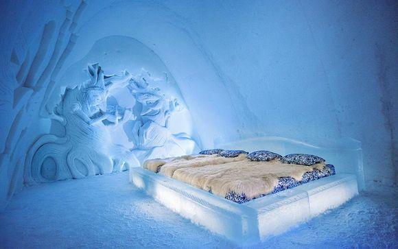La Laponie en train avec nuit au SnowHotel