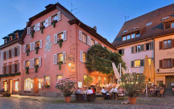 Poussez les portes de votre Hôtel Der Löwen in Staufen mit Haus Goethe