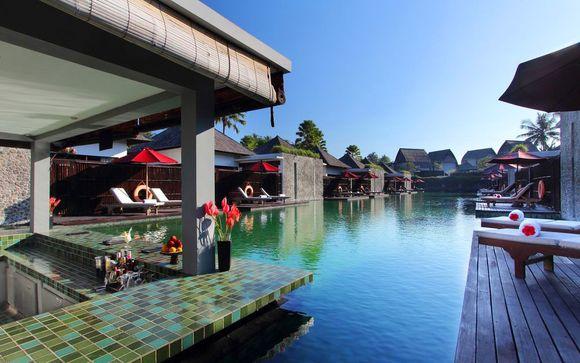 Poussez les portes de l'hôtel Furama Villas & Spa 4*