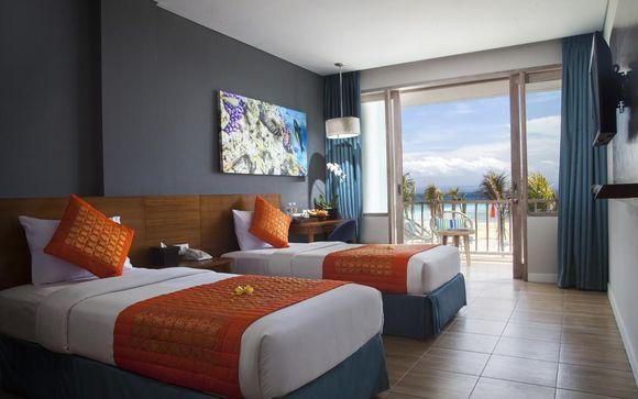 Poussez les portes de l'hôtel Mahagiri Resort 4* à Nusa Lembongan