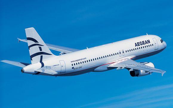 Choisissez de vous envoler avec la compagnie Aegean Airlines