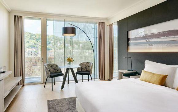 Poussez les portes de l'hôtel Lyon Marriott Cité Internationale 4*