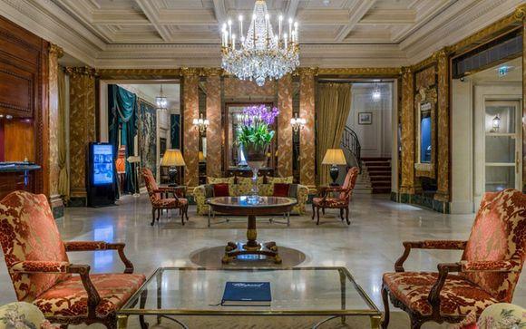 Poussez les portes de l'Hôtel Westminster 4*