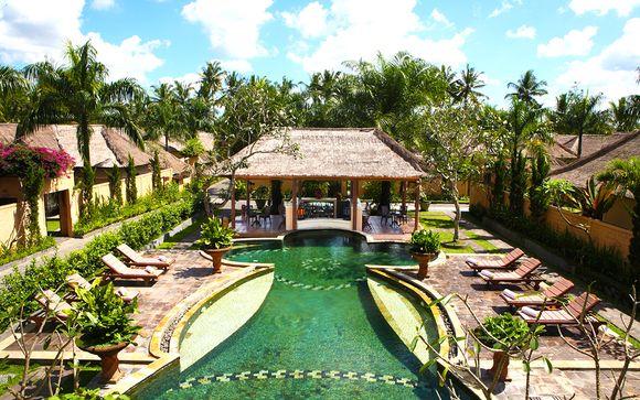 Poussez les portes de l'hôtel Furama Villas and Spa 4* à Ubud