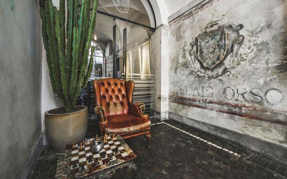 Ambiance loft dans la capitale italienne - Rome -