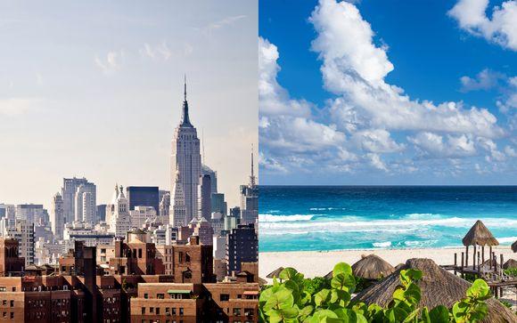 Combiné New York et Cancun