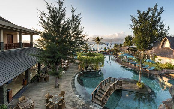 Poussez les portes de l'hôtel Vila Ombak Gili Trawangan 4*