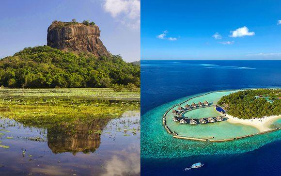 Combiné Mini-Circuit Splendeurs de Ceylan et séjour aux Maldives