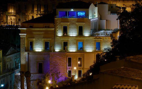 Poussez les portes de l'hôtel San Giorgio Modica 4*