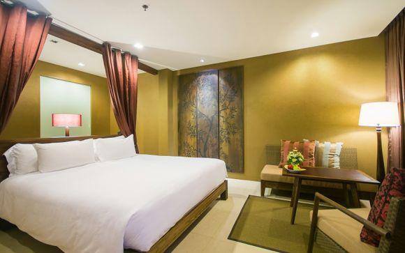 Poussez les portes de l'hôtel Sunsuri à Phuket