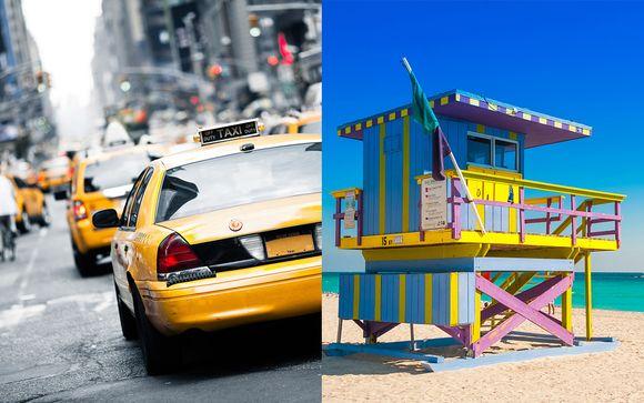 Combiné New York Miami avec croisière possible aux Bahamas