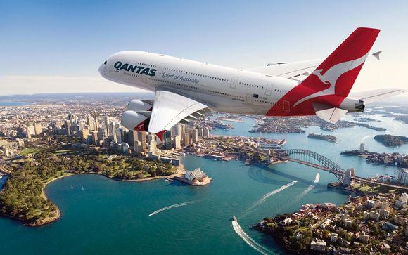 Envolez-vous en A380 avec la compagnie Qantas