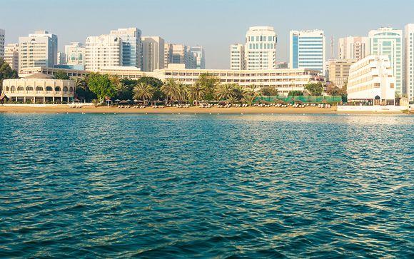 Poussez les portes de l'hôtel Le Meridien Abu Dhabi 4*