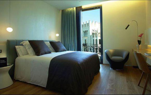 Puisque votre confort est lune de nos priorités vous profiterez dun surclassement en chambre design 25 m² à lhôtel ohla barcelona