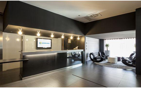 Poussez les portes de votre hôtel Ilunion Bel Art 4* à Barcelone