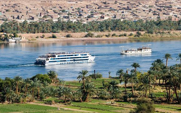 Croisière sur le Nil et Hôtel Labranda Royal Makadi 5*