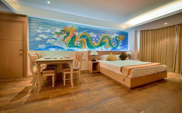 Poussez les portes de l'hôtel Grand Sathorn à Bangkok